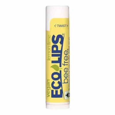 Eco Lips Bee Free Vegan Lip Balm (Lemon-Lime Flavour)