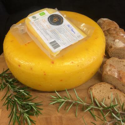 Ballinrostig Organic Red Pepper & Garlic Cheese