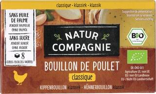 Organic Chicken Bouillon Stock Cubes