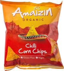 Organic Chilli Corn Crisps Gluten Free