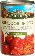Organic Chopped Vine Tomatoes
