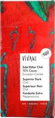 Organic Dark Chocolate With Chilli