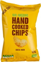 Organic Cheese And Onion Crisps