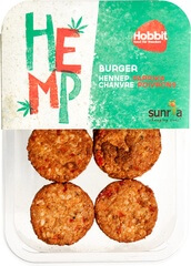 Organic Hemp Burger With Paprika