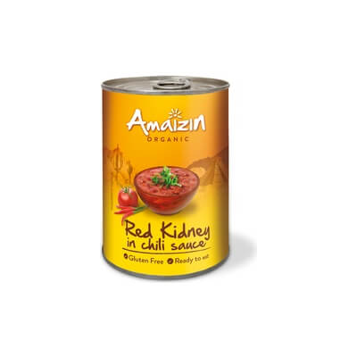 Organic Red Kidney Beans In Chilli Sauce