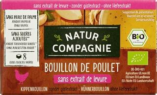 Organic Chicken Bouillon Stock Cubes - Yeast And Sugar Free