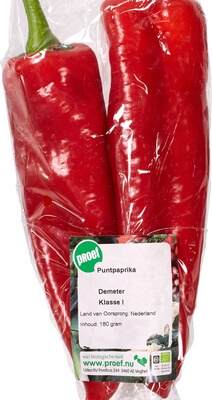 Organic Pointed Peppers