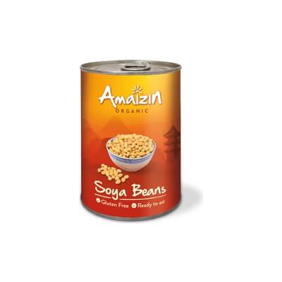 Organic Canned Soya Beans
