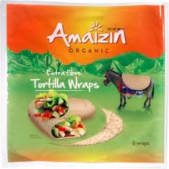 Organic Tortilla Wraps - Extra Fibre