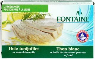Organic Tuna Fillet In Sunflower Oil