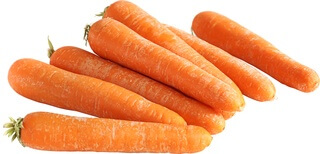Organic Carrots Washed 500G