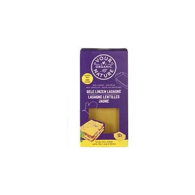 Organic Yellow Lentil Lasagne Sheets