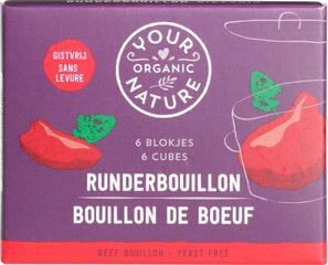 Organic Beef Bouillon Stock Cubes - Yeast Free