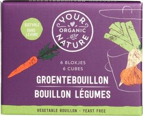 Organic Vegetable Bouillon Stock Cubes - Yeast Free