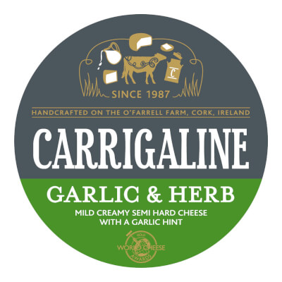 Carrigaline Cheese With Garlic & Herbs