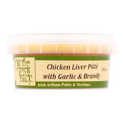 Chicken Liver Pate With Garlic & Brandy 150G