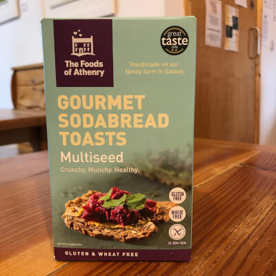 The Food Of Athenry Gourmet Sodabread Toasts  Multiseeds