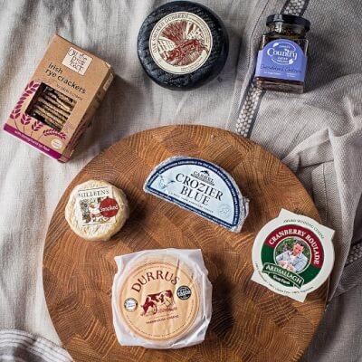 Irish Farmhouse Cheese Box With Chutney & Crackers