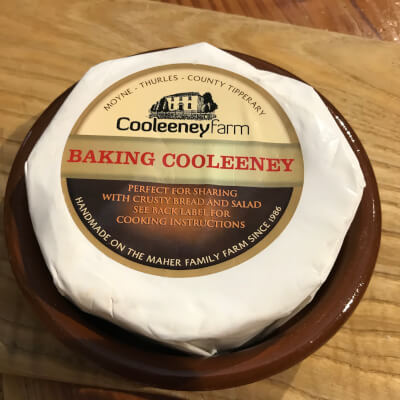 Baking Cooleney Cheese