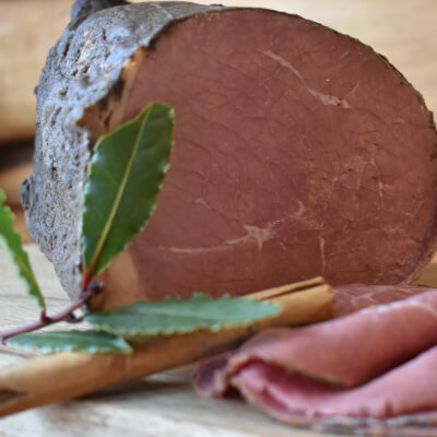 Sliced Cooked Spiced Beef