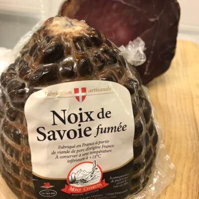 Smoked Cured Noix De Jambon De Savoie