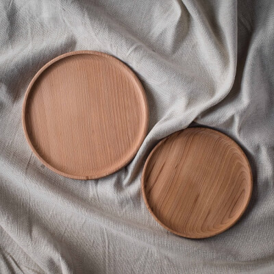 Crafted Wood Plates