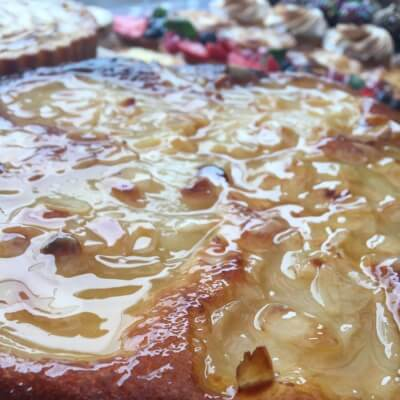"""9"""" Pear And Almond Tart"""