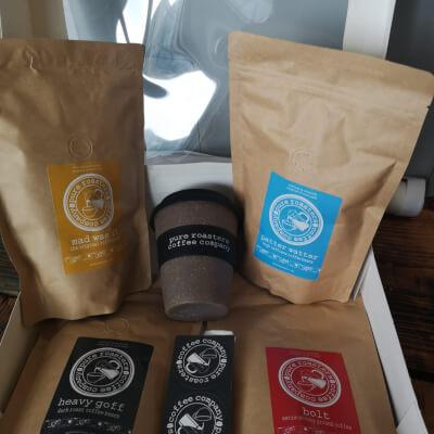 Scottish Coffee Gift Set - (Grounds)