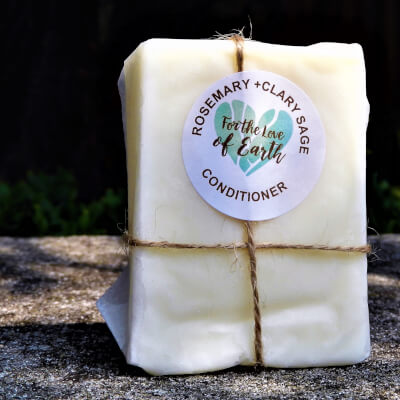 Rosemary And Clary Sage Conditioner Bar