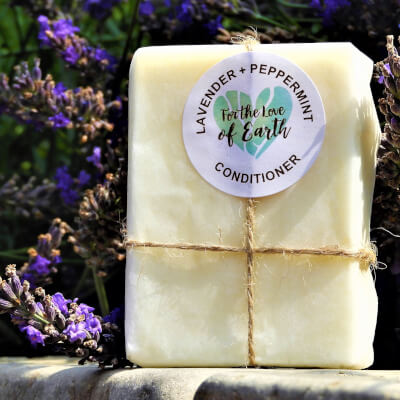 Lavender And Peppermint Conditioner Bar