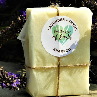 Lavender And Thyme Shampoo Bar