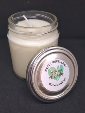Insect Repellent Soya Candle