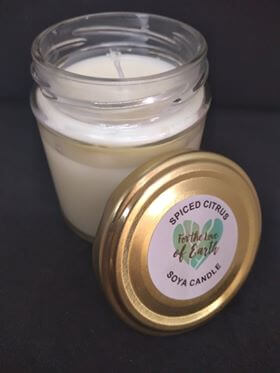 Spiced Citrus Soya Wax Candle