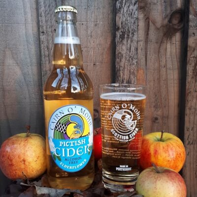 Alcohol Free Pictish Elderflower Cider 50Cl