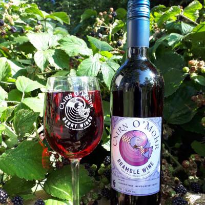Cairn O Mohr Bramble Wine 75Cl