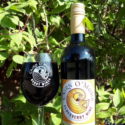 Cairn O Mohr Elderberry Wine 75Cl