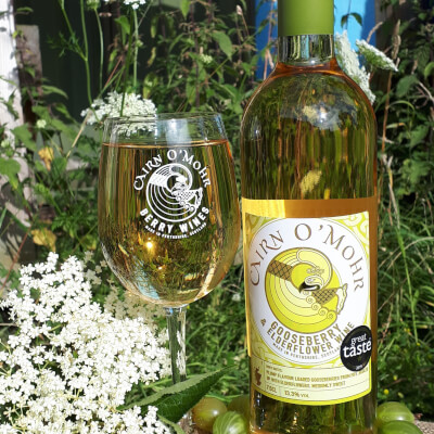 Cairn O Mohr Gooseberry & Elderflower Wine 75Cl