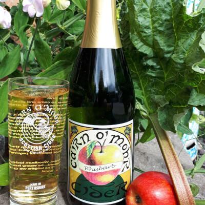 Cairn O Mohr Rhubarb Cider 75Cl