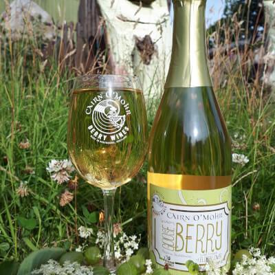 Cairn O Mohr Sparkling Gooseberry & Elderflower Wine 75Cl