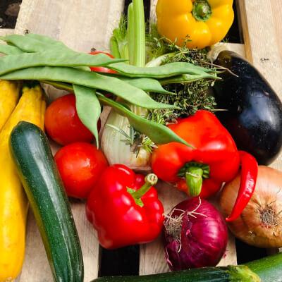 Family Mediterranean Organic Box