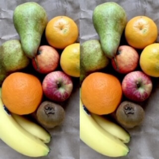 Fruit Portion  Double Small Organic