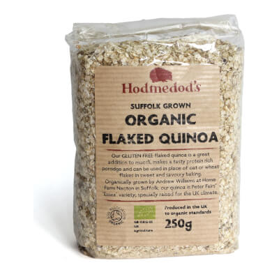 UK Grown Quinoa Flakes Organic