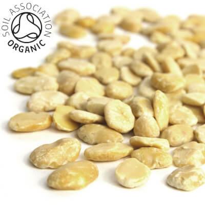 Organic Split Dried Fava Beans