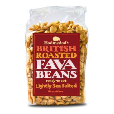 Roasted Fava Beans Lightly Sea Salted