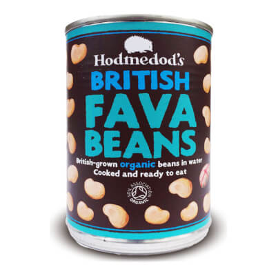 Whole Fava Beans In Water Organic