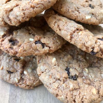 A Selection Of Vegan Cookies