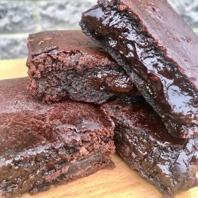 Vegan Gooey Chocolate Brownie