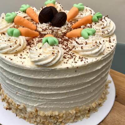 Vegan Easter Carrot Cake