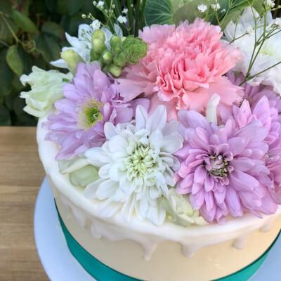 Vegan Floral Celebration Cake