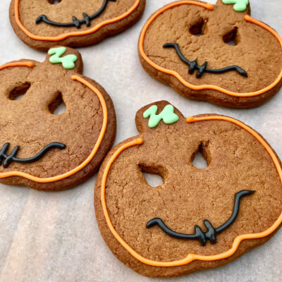 Halloween Pumpkin Gingerbread